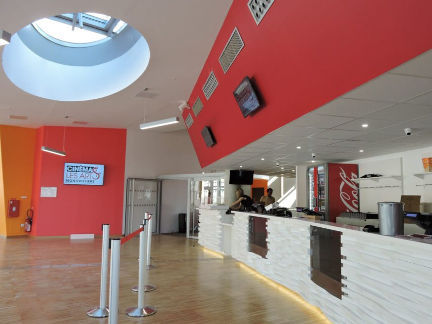 Les Havre's new cinema Les Arts has just opened. (photo: Valentine Godquin / Normandie-actu)