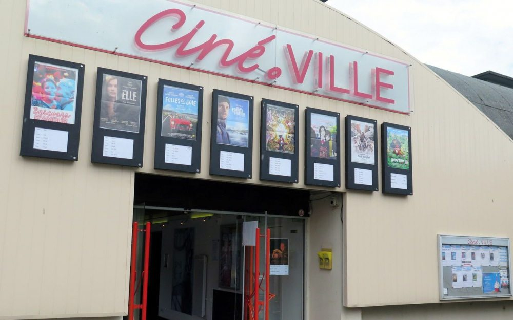 Conflan's Cine.Ville - set to close. (photo: Le Parisien)