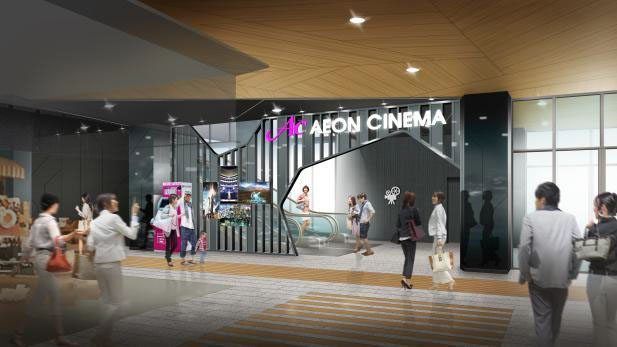 Aeon Cinema Matsumoto. (image: artist's impression)