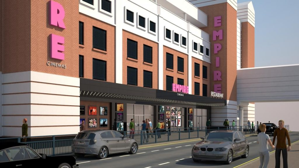 A new front for Empire Sutton. (image: artist's impression)