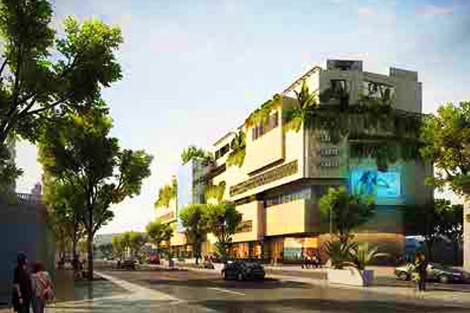 Odel Mega Mall in Colombo, Sri Lanka. (image: artist's impression)