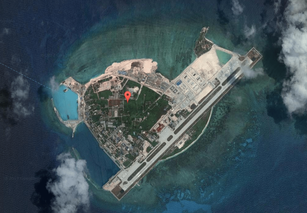 Woody Island - now with a 4K & 3D cinema. (image: Google Earth)
