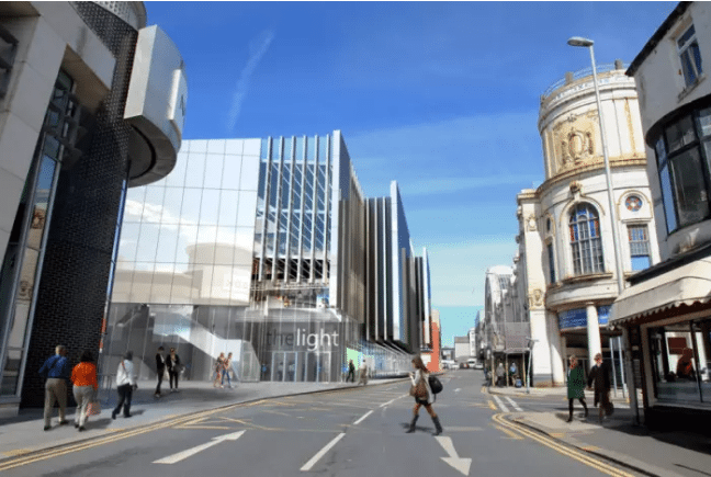 Blackpool cinema plans. (image: artist's impression)