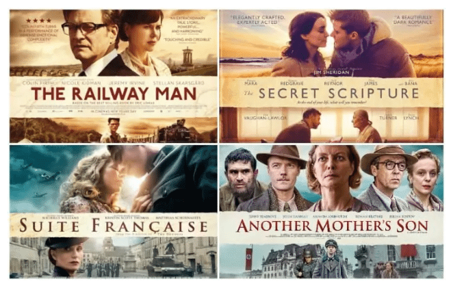 Spot the difference - UK film posters. (image: The Telegraph)
