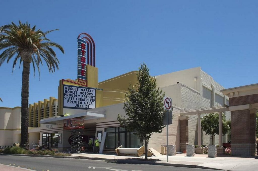 The renovated Woodlan's State Theatre. (photo: Randall Benton / Sacramento Bee)