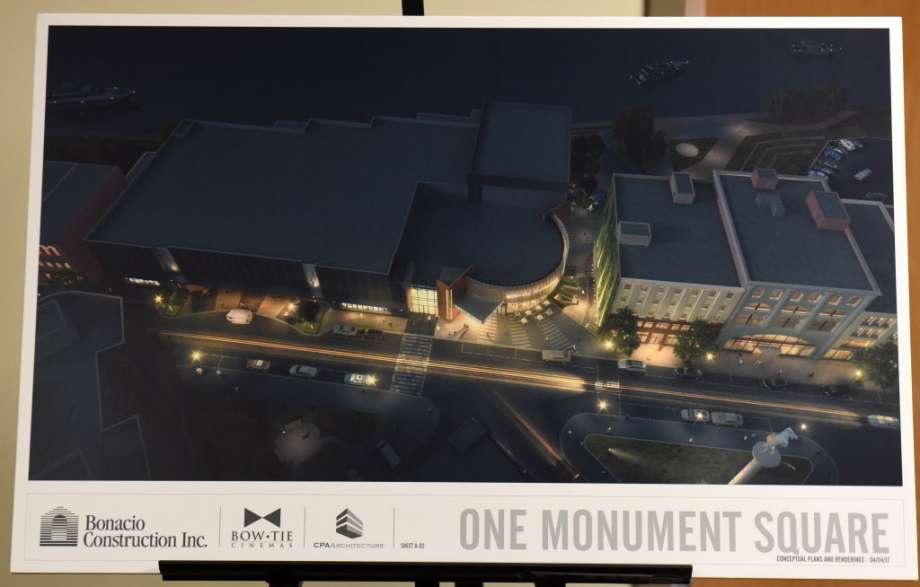 Design for the Bow Tie Cinema in Troy. (image: Times Union)