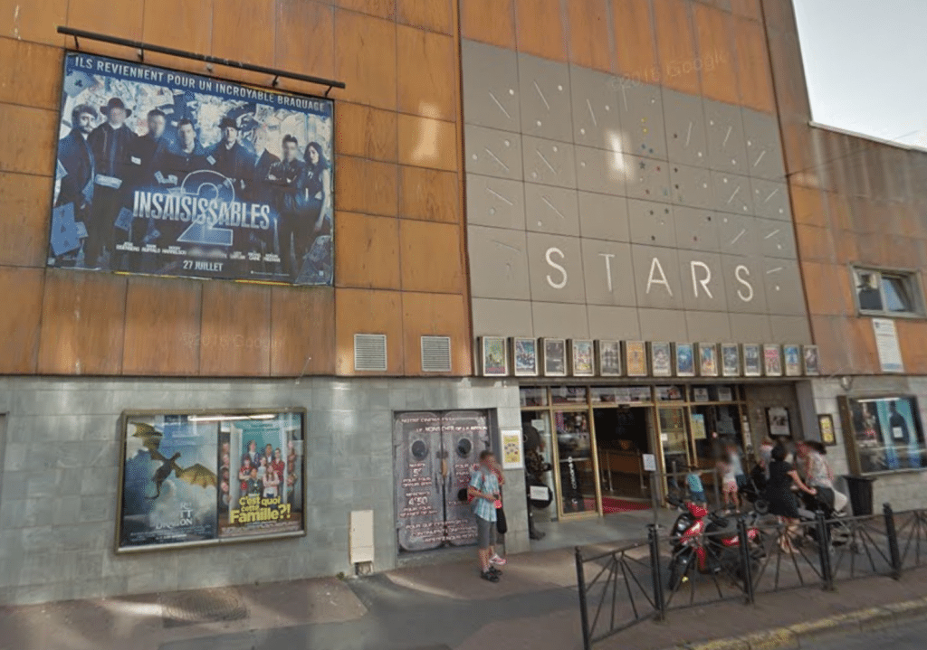 Boulogne's Les Stars cinema. (image: Google Earth)