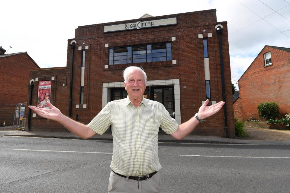 Brian Currie in front of The Regal he bought. (photo: The Sun)