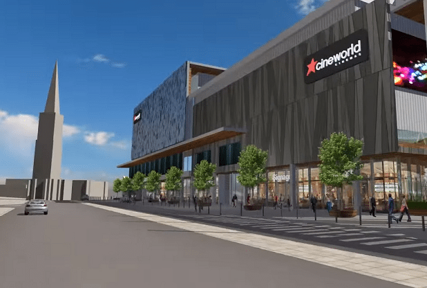 Cineworld Plymouth. (image: artist's impression)