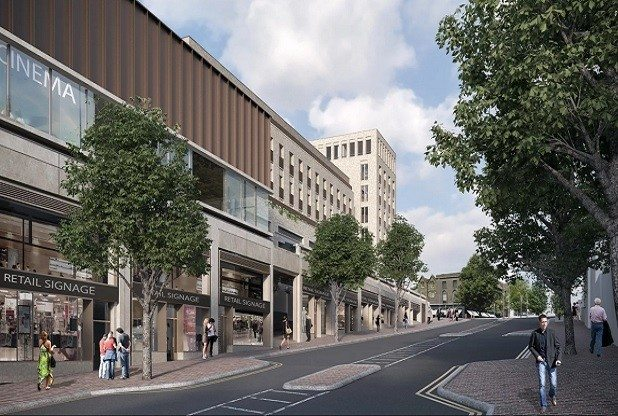 Cinema plans for Tunbridge Wells. (image: artist's impression)
