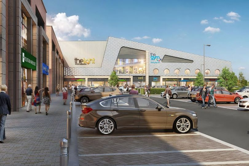 The Light at Longbridge. (image: artist's impression / St Modwen)
