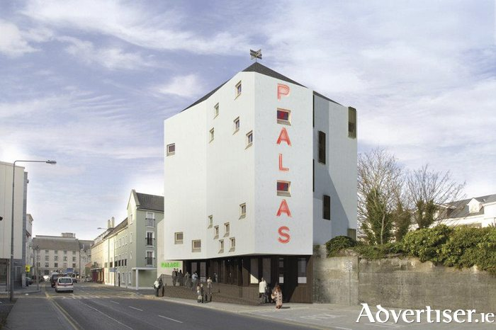 Plans for Galway's Picture Palace. (image: artist's impression / Advertiser.ie)