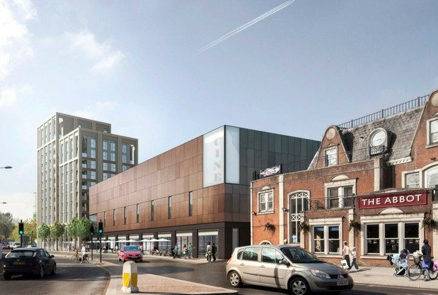 The Light Cinema Redhill. (image: artist's impression)
