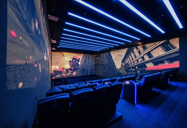 A 4DX-Screen X theater at CGV Yongsan (photo: CJ CGV)
