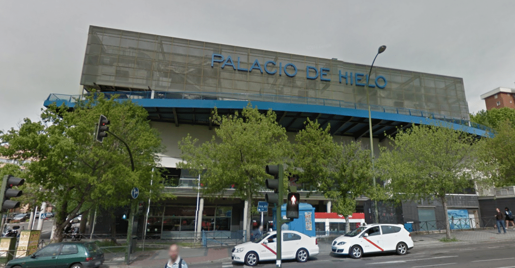 Cines Dreams Palacio de Hielo. (image: Google Earth)