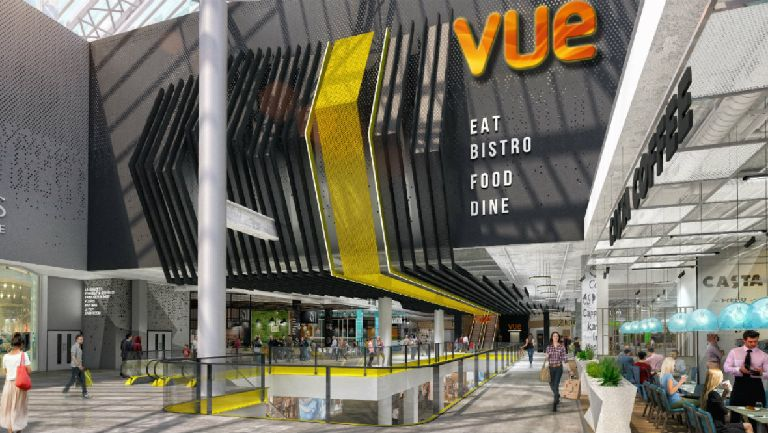 Vue cinema in Glasgow's St Enoch Centre. (image: artist's impression)