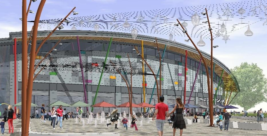 Colchester's Northern Gateway, with a Cineworld. (image: artist's impression)