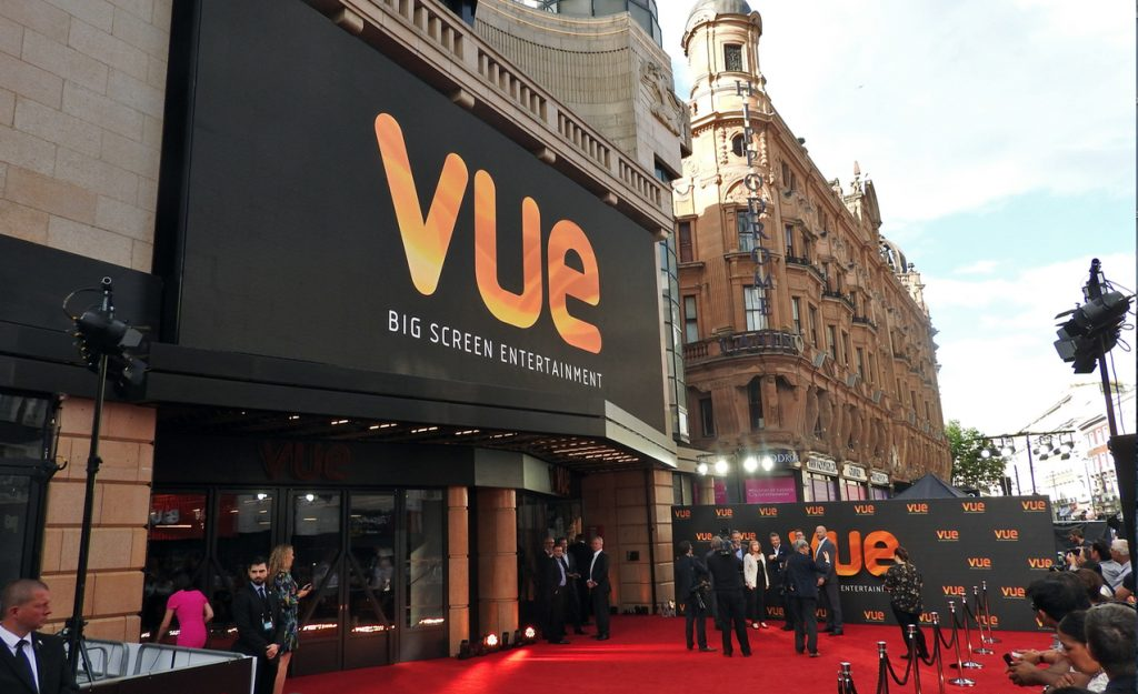 Vue West End Reopening - Marquee and Exterior