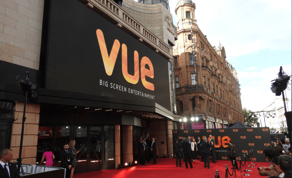 Vue West End gala re-opening. (photo: Patrick von Sychowski / Celluloid Junkie)