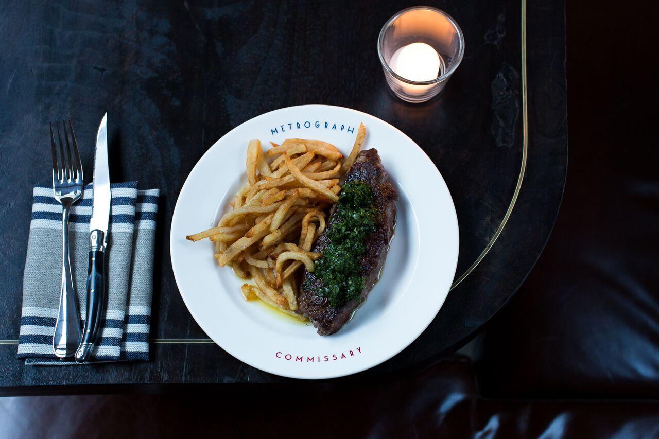 Metrograph - Steak Frite