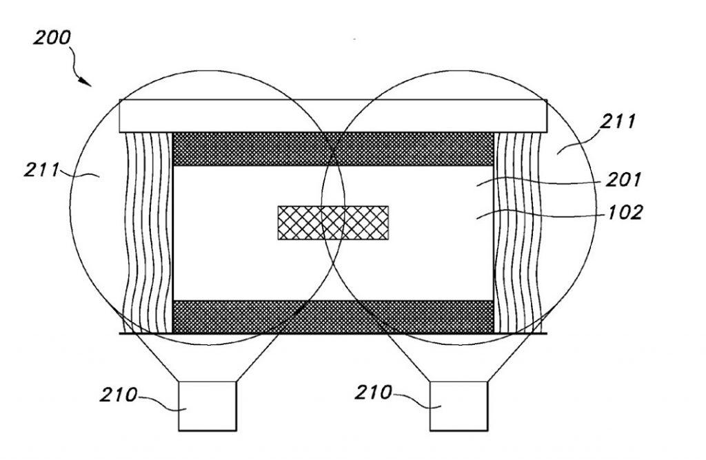Phiips LightVibe patent filing. (image: Philips)
