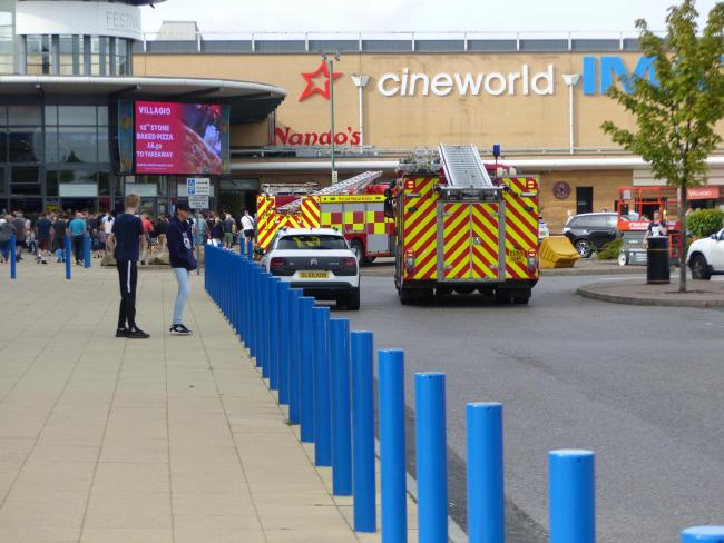 Cineworld Basildon was evacuated. (photo: Basildon Echo)