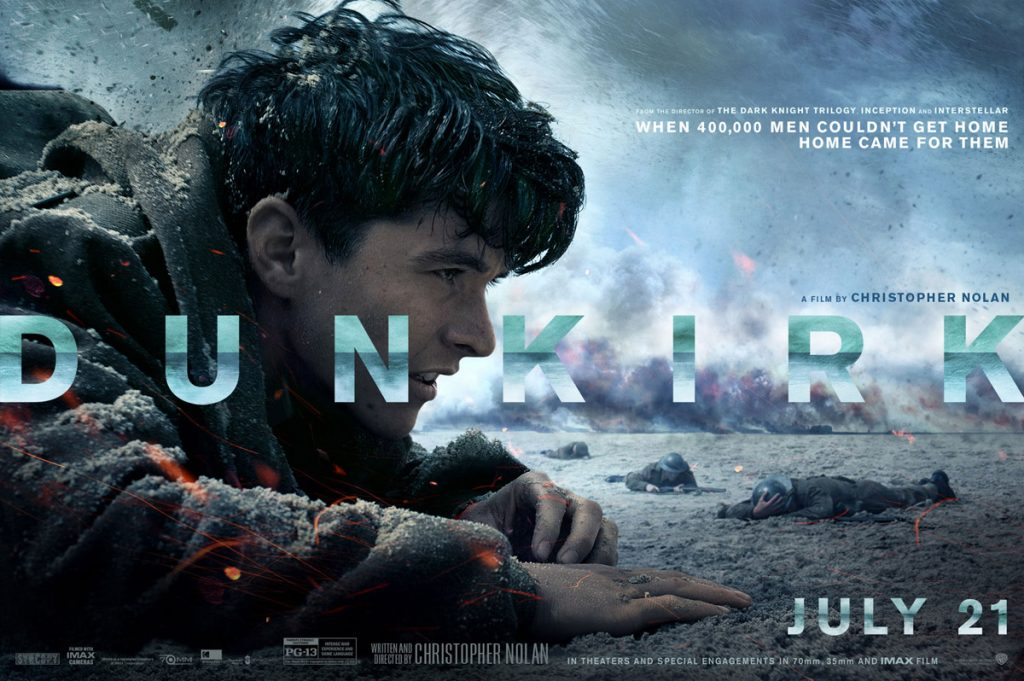 "Coming to the rescue of the box office - ""Dunkirk"". (poster: Warner Bros)"