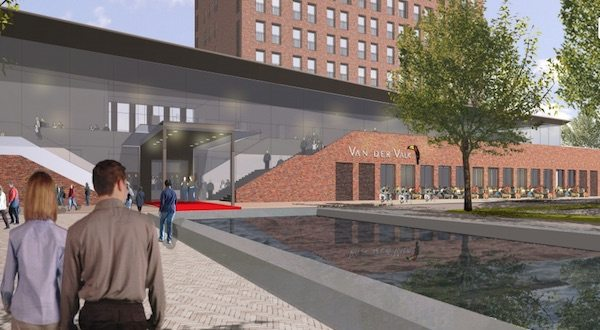 The Van der Velke complex in Gorinchem that would include a Vue. (image: artist's impression)