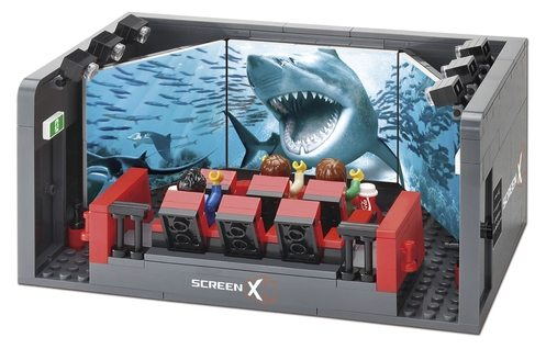 ScreenX Lego is Awsome! (photo: CGV Facebook page)