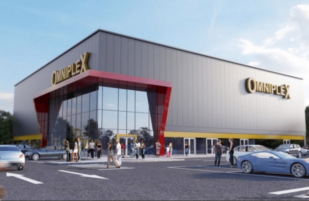 Omniplex in Omagh. (image: artist's impression)