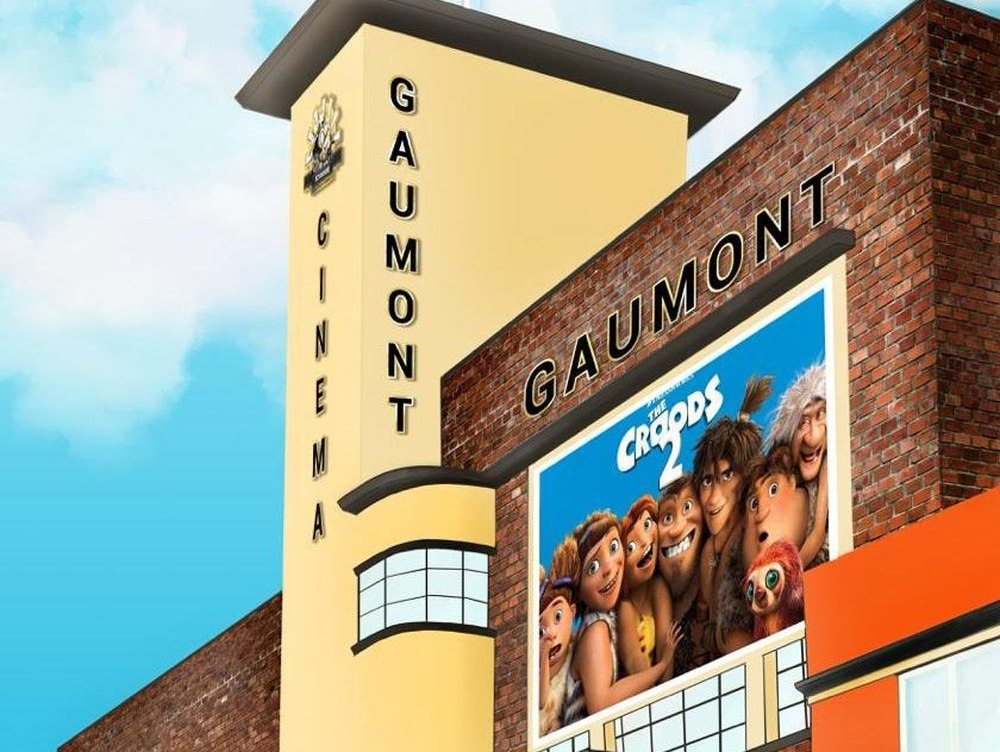 Proposal for old Gaumont in Wednesbury delights Dreamworks Animation. (image: artist's impression)