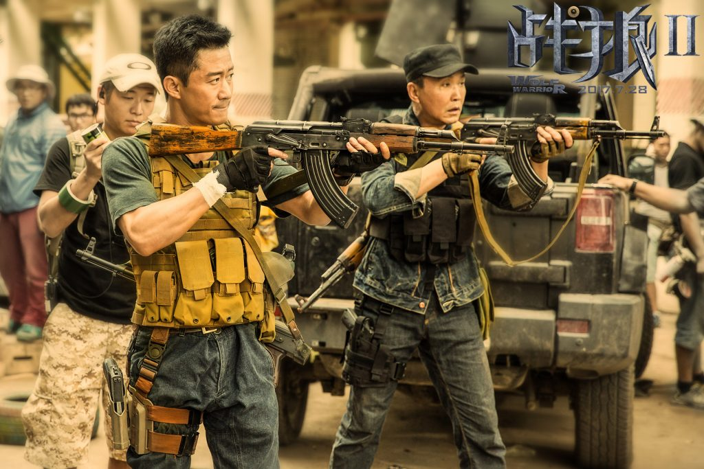 """Shoot any box office thieves on sight.""- Wolf Warriors 2"