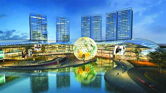 Shanghai's Long Beach cinema. (image: artist's impression)