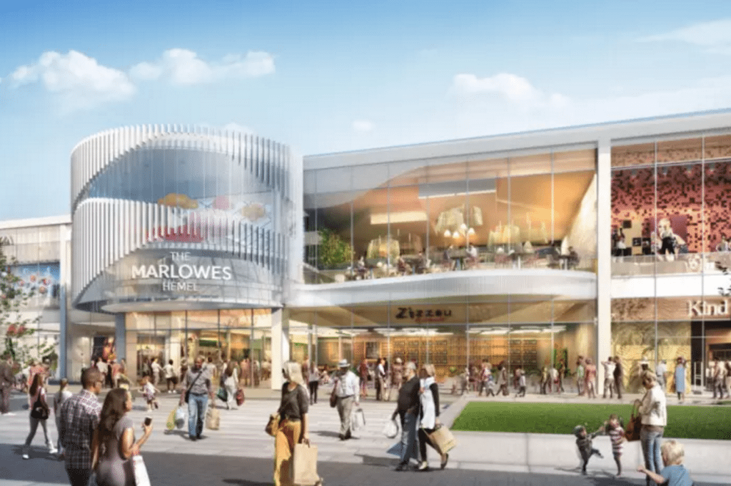 Plans for the revamped Marlowe include a cinema. (image: artist's impression)