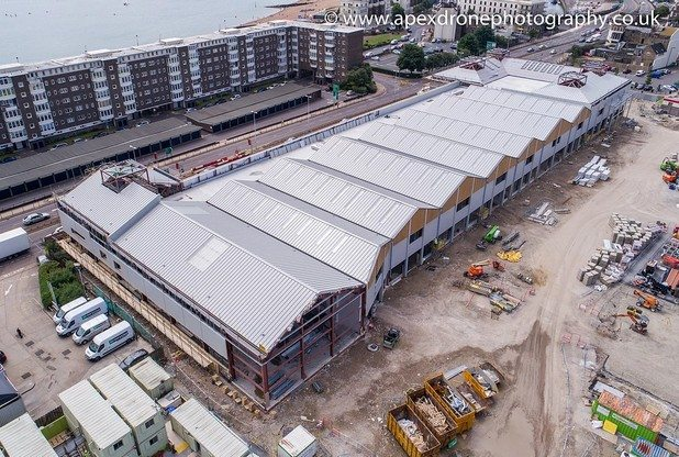 Block A of the St James development in Dover. (photo: apexdronephotography.co,uk)
