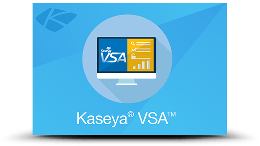 Kaseya VSA is used by Vue.