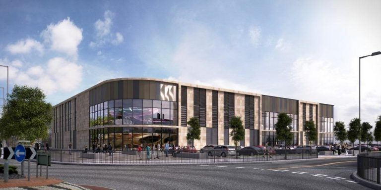 Market Walk in Chorley will feature a six-screen Reel cinema. (image: artist's impression)