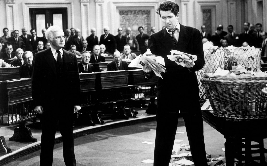 Jimmy Stewart reads letters from cinemagoers demanding better and more original storytelling