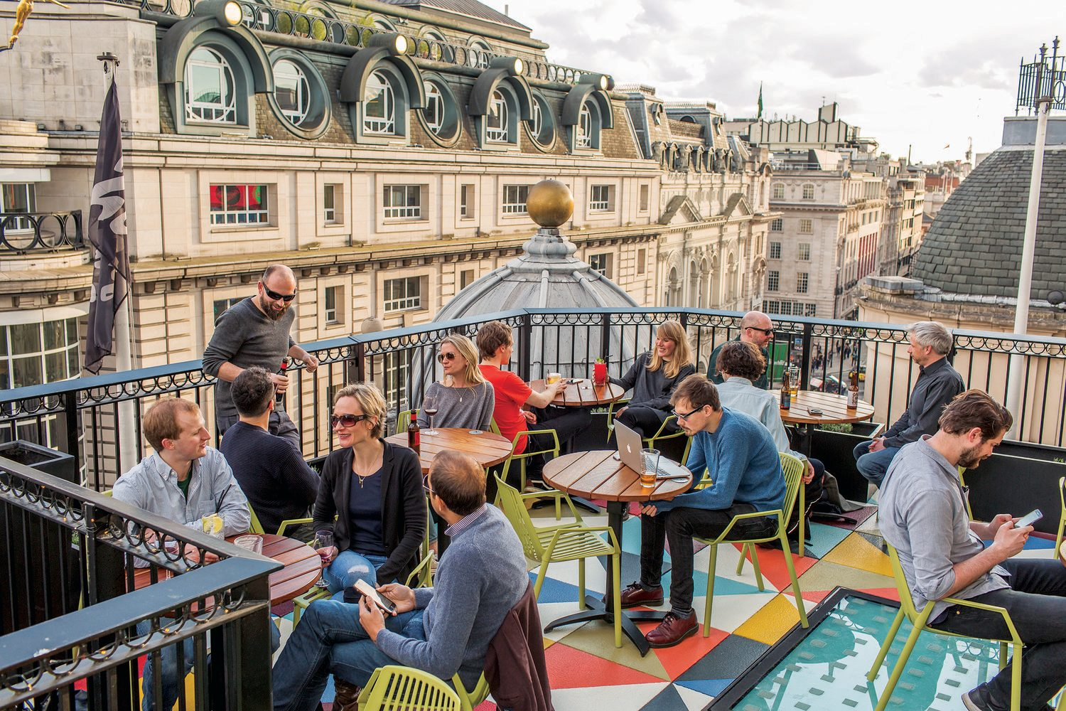 Roof Terrace at the Picturehouse Central in London
