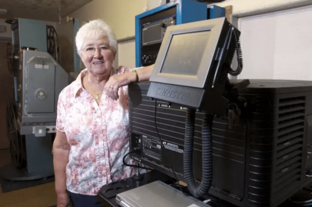 Dorothy Williamson, owner of the Palace Cinema. (photo: Lancashire Post)