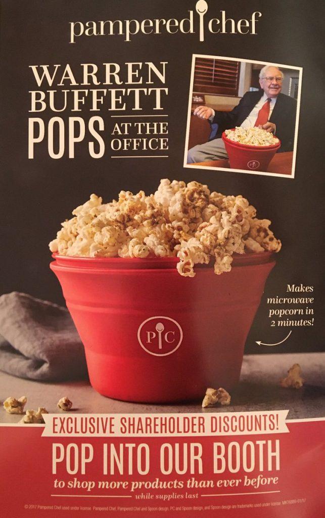Warren Buffett popcorn
