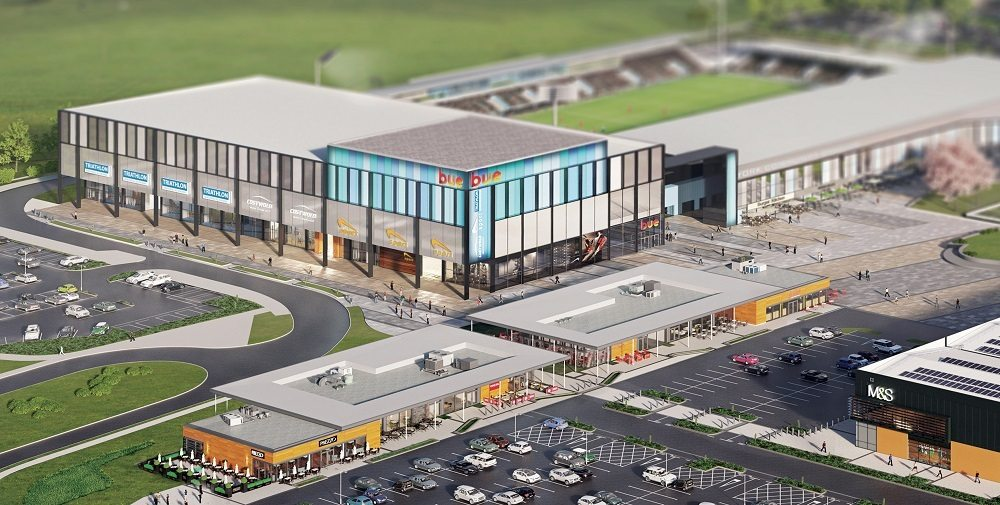 Monks Cross cinema plans in York. (image: artist's impression)