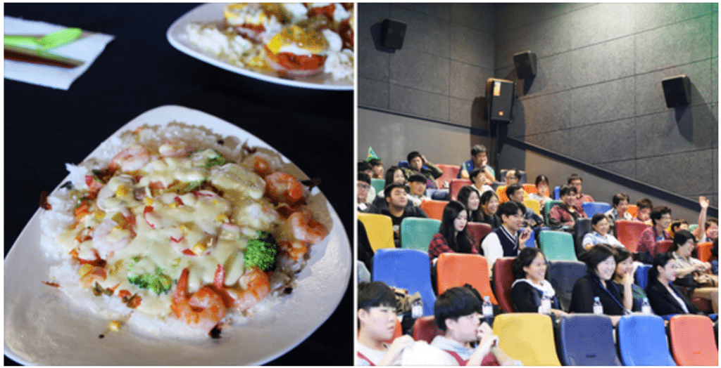 Not your typical cinema food. Cooking competition. (photo: Megabox)