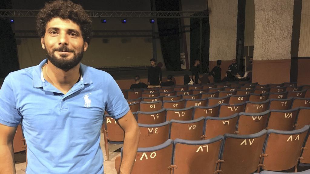 Kassem Istanbouli at Cinema Stars. (photo: David Enders / The National)