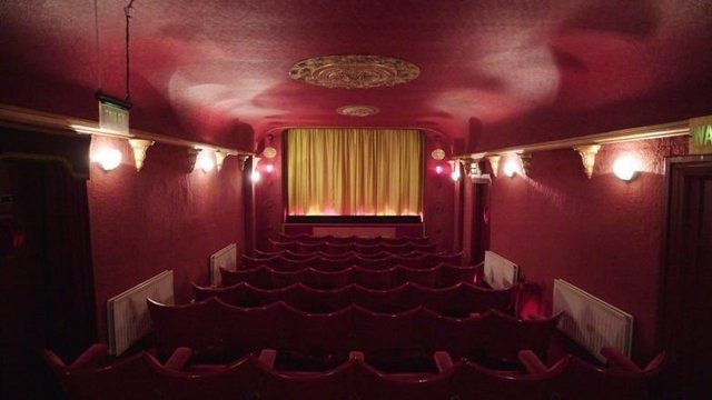 Tudor Cinema in Northern Ireland. (photo: CNN Travel)