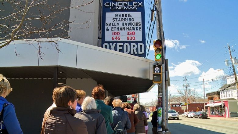 Cineplex's Oxford Theatre in Halifax is closing. (photo: Yahoo! News)