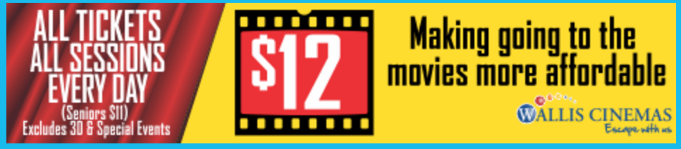 Wallis Cinemas A$12