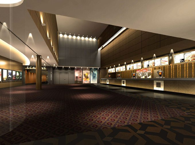 Toho cinema in Tokyo Midtown. (image: artist's impression)