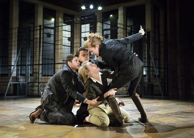 "RSC's ""Titus Andronicus"". (photo: Helen Maybanks)"