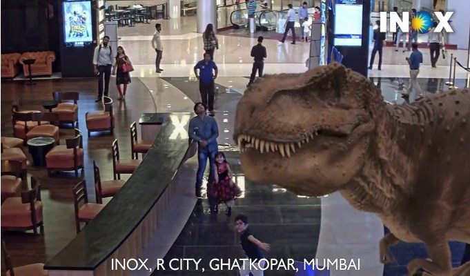 Inox augmented reality. (photo: IndiaRetailing)